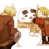 usuk snowman