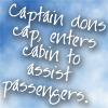 CP - Captain dons cap
