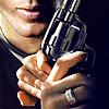serendip50: dean hands gun by nito_punk