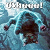 Cheshire Cat goes Whee!