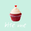 cupcake, bite me, firstillusion