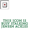 Icon Stalking Jensen