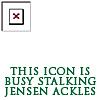Icon Stalking Jensen