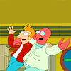 Christina: futurama zoidberg and fry freedom oy