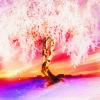 Lavendar: White Tree