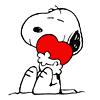 aussi1988: Snoopy hug heart