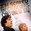 Sherlock BBC - Scared