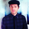 Misha with hat