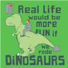 Misc - Riding Dinosaurs