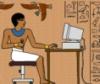 * - egypt - scribe