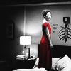 redsky9805: Cris/reddressb+w