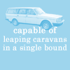 Quote - Volvos leaping caravans