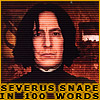 Snape in 100 words