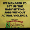 -: Baby-Sitters Club - Slytherin (violence)