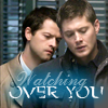 Deni: Dean/Cas - Watching over you