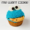 Rena: Cookie Monster Cupcake