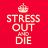 stress and die