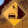 cow falling