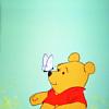 Marie: Disney - Winnie + butterfly