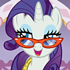 MLPFiM :: Rarity - stylin' on you