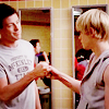 IT'S SO HARD BEING *~SPARKLY~*: [ glee - se/fh ] have your back