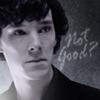 not good?, sherlock's face