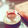 tea and book