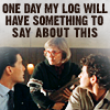 one day my log will...