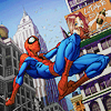 comics - spidey - swinging