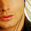 Miss Nina Cat: SPN-Dean Magic Fingers Lips