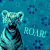 tyghra: roaring tiger cub