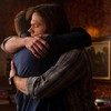Alex: SPN Sam Dean hug side