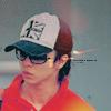 [ok] hat and sunglasses