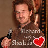 Chaos, Panic, Pandemonium – my work here is done.: supernatural--richard says slash is love