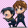 Chibi!battlecouple - For 2xH fanworks