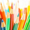 Stock-colored pencils