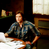 oh these heroes come and go;: [spn] sam - nerd;;