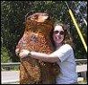 Sweet and plain unsingable name: bear hug