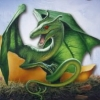 dreamy_dragon73: Dragon Green