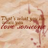 text - love someone: vexena-sky