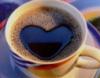 heart, coffee