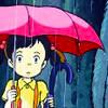 rain, Totoro
