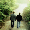 spn- boys walk down path