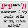 J2 Big Bang Write