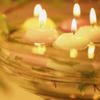 свечи в воде
