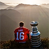 hocky ladd with cup