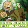 Rachael: witty and gay - Iroh