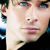 Angel: Vampire Diaries - Damon Beautiful Blue E