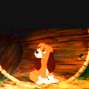 pout, fox and the hound, :<