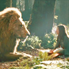 A girl and her lion